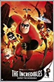 Close Up The Incredibles Poster Expect The Incredible (93x62 cm) gerahmt in: Rahmen silber matt