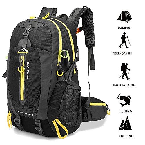 Imagen de lixada 40 resistente al agua viaje  camp caminata portátil  trekking subir bolsas de vuelta para hombres mujeres