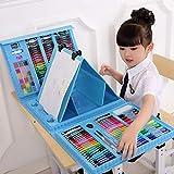 El Juego de la Pluma de la Acuarela, Arte portátil de los niños de la Acuarela de los niños colorea el lápiz 176PC
