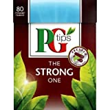 PG Tips The Strong One 80 Btl. 232g - Schwarzer Tee im Pyramidbeutel
