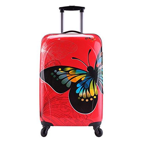 PARTYPRINCE , Valigia  donna rosso rosso 56x33x24cm