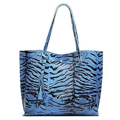 Tiger Pattern Print Womens Fashion Large Tote Shoulder Bag Ladies Handbag
