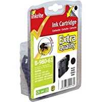 Inkrite Printer Ink For Brother Dcp145c Dcp165c - Lc61 Lc980 Lc65 Lc1100 Black (bumblebee) - Ngsbb980-61u
