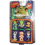 Shrek Fairytale Friends Figurine Set with Princess Fiona, Shrek, Puss N Boots, Mouse, Gingy, Pinocchio by Shrek