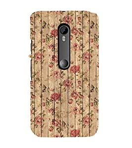 FUSON English Roses Seamless Pattern 3D Hard Polycarbonate Designer Back Case Cover for Motorola Moto G3 :: Motorola Moto G (3rd Gen) :: Motorola Moto G3 Dual SIM