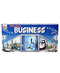 The property trading game on the roll of a dice with additional four games. Other games included are snake & ladders, ludo, car rally, cricket. 4 colour peg, 2 dice, playing notes, property cards, playing introduction, playing house & hotel p...