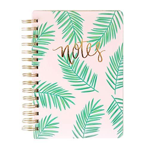 Palms Pink Spiralbuch Studientagebuch Schule Arbeit Palm Office Decor Florida South Leaves Peaceful Writing College (Florida-schreibtisch-kalender)