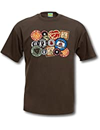 Northern Soul t-shirt - patch badge patches