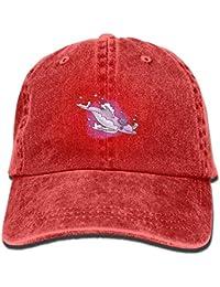 Gorras de béisbol/Hat Trucker Cap Purple Dolpink with Hat Fashion Unisex Adjustable Baseball Cap