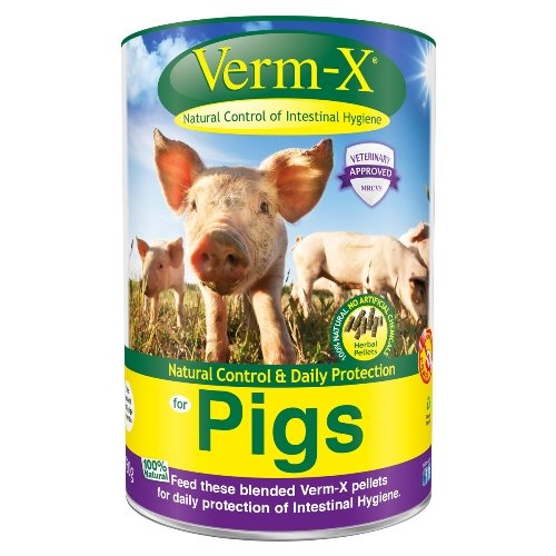 Verm-X - Herbal Pellets for Pigs x 750 Gm Tube Test
