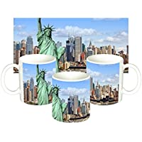 Estatua De La Libertad Statue of Liberty Nueva York New York City NY A Taza Mug