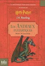 La bibliothèque pour jeunes sorciers du monde de Harry Potter - 2 volumes Le Quidditch à travers les âges ; Les Animaux fantastiques de J.K. Rowling