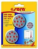 sera 31185 LED chip red vision 2 W reines Rotlicht als Akzent- und nächtliches Beobachtungslicht