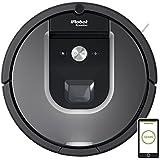 iRobot Roomba 960 - Robot aspirador, rendimiento de limpieza avanzado con sensores de suciedad Dirt Detect, para todo tipo de suelos y adecuado para el pelo de mascotas, conexión  WiFi