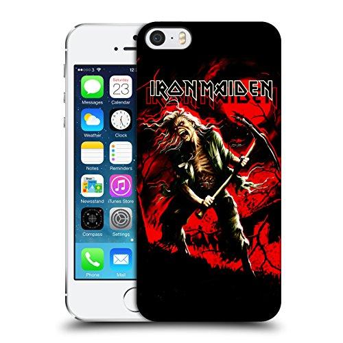 Ufficiale Iron Maiden Best Of Beast Arte Cover Retro Rigida per Apple iPhone 6 / 6s Benjamin Breeg