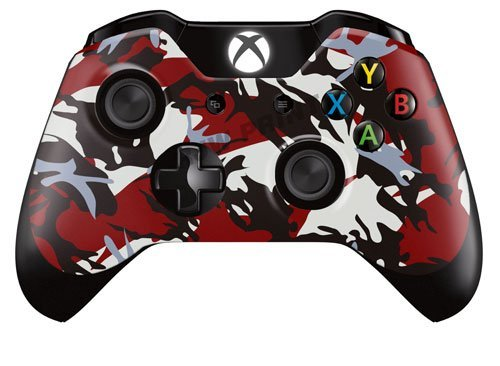 motif-design-skin-pour-xbox-one-controller-red-black-camo-lot-de-2