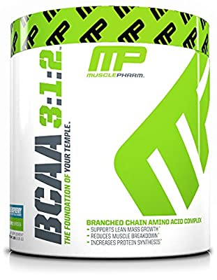Muscle Pharm 215g Blue Raspberry BCAA Supplement from Muscle Pharm