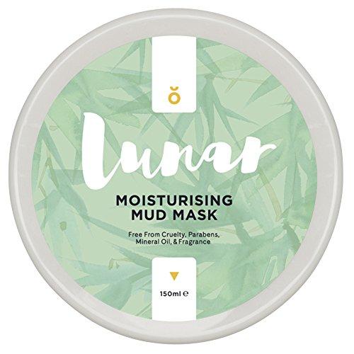 Feuchtigkeitsspendende Tonerde Schlammmaske/Gesichtsmaske von Lunar Glow. Mud Face Mask 150ml.