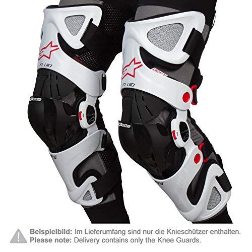Alpinestars Knieorthese Fluid Pro Weiß Gr. XL/XXL