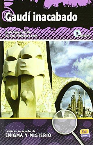 Gaudí inacabado - Libro + CD (Lecturas de Español Eenigma y misterio) de Jordi Pijuan Agudo (1 ene 2010) Tapa blanda