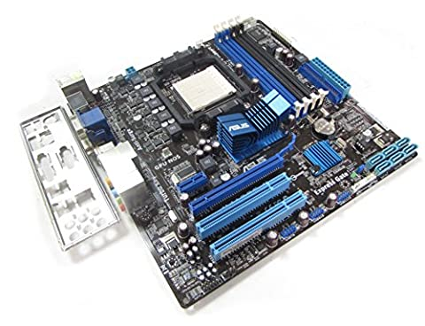 Asus M4A785-M Rev 1.01G Socket AM2+/AM3 Motherboard with