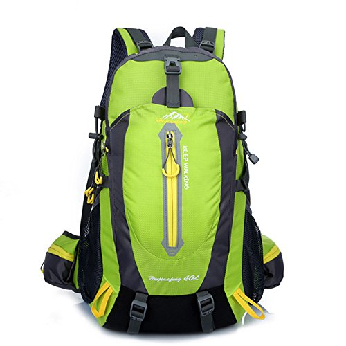 Wandern Rucksack Reiten Bergsteigen Tasche Rucksack Taktische Wasserdichte Outdoor Laptop Rucksack Männer Frauen Sporttasche 40L,C (Burton-schaum)