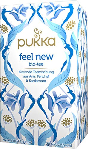 FEEL NEW Pukka Tee BIO 4 Packungen á 20 Teebeutel (früher: DETOX)