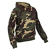 LARGE ARMY CAMOUFLAGE classic plain pullover hoodie unsex and these are ideal for mens and ladies hooded sweatshirt