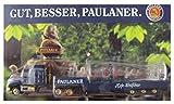 Paulaner Nr.17 - Hefe Weißbier - Mack Hauber - US Sattelzug mit Weizenbierglas