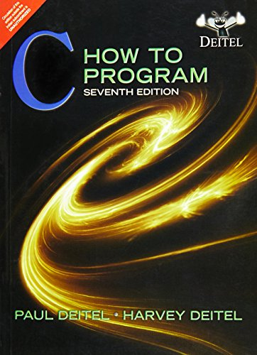 C How To Program, 7Th Edition