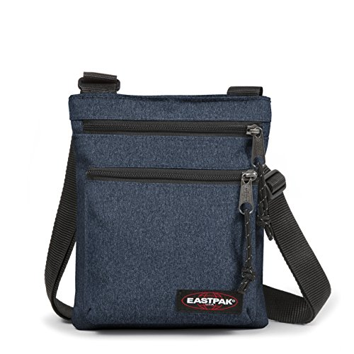 Eastpak Rusher Sac bandoulière, 23 cm, Bleu (Double Denim)