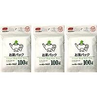 Daiso desechables bolsas de filtro para té (3pc en X100)