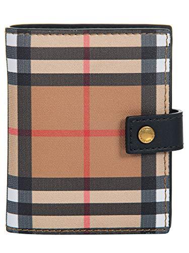 BURBERRY Damen 4073431 Beige Leder Brieftaschen