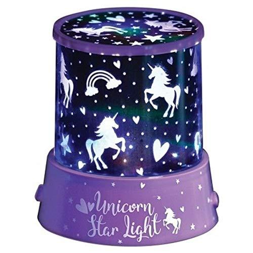 Nachtlicht Projektor für Kinderzimmer, Stern, verschiedene Designs, Einhorn-Stern