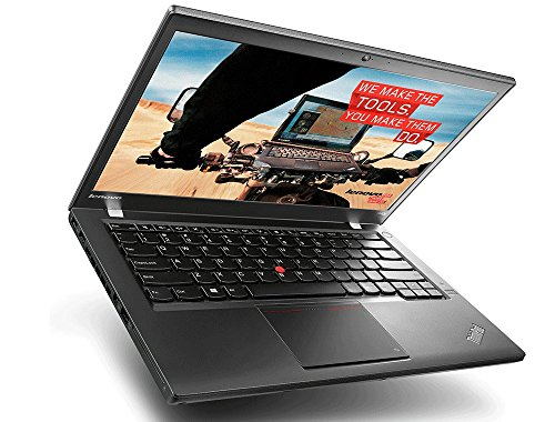 Lenovo ThinkPad T440s i7 Premium-Notebook – 240GB SSD – Intel DuoCore i7 Prozessor – 8 GB RAM – 14 Zoll Full-HD 1920x1080 Multitouch Display - Windows 10 Pro XMN (Zertifiziert und  Generalüberholt)