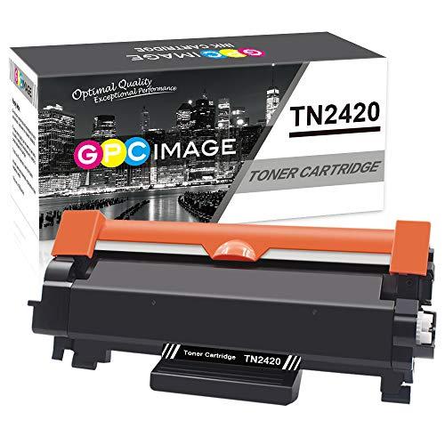 GPC Image TN2420 TN-2420 Cartucce Toner Compatibili per TN2410 TN-2410 per Brother MFC-L2710DW L2710DN L2730DW L2750DW, HL-L2310D L2350DW L2375DW L2370DN, DCP-L2510D L2530DW L2550DN (Nero, 1-Pack)