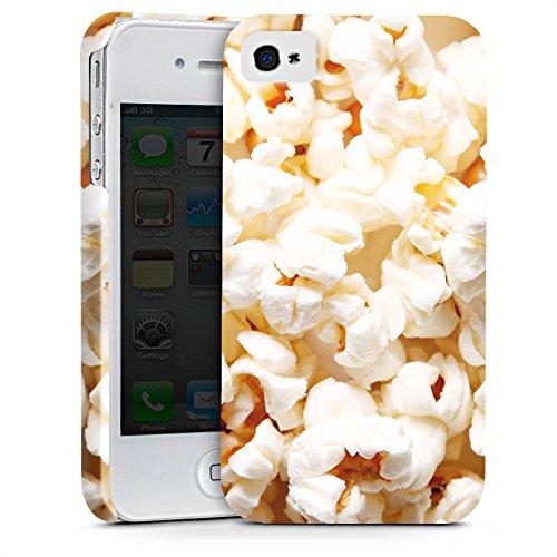 Apple iPhone X Silikon Hülle Case Schutzhülle Popcorn Kino Poppin Corn Premium Case glänzend