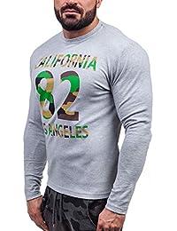 BOLF Sweat-shirt - Pull de sport – avec impression – RIPRO 4630 - Homme