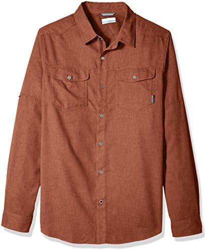 Columbia Pilsner Lodge Lodge Lodge Long Sleeve Shirt Rusty Heather XXL | Per Essere Altamente Lodato E Apprezzato Dal Pubblico Dei Consumatori  | I Clienti Prima  da0c95
