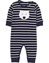 Fred's World by Green Cotton Baby Bear Stripe Bodysuit