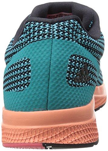Adidas Performance Mana rimbalzo scarpa da corsa, nero / verde urti / sole Glow Giallo, 5 M Us Black/Shock Green/Sun Glow Yellow