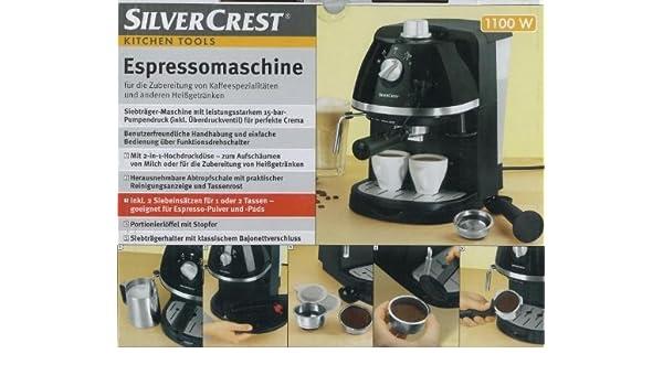 Machine à Expresso Silvercrest Amazonfr Cuisine Maison