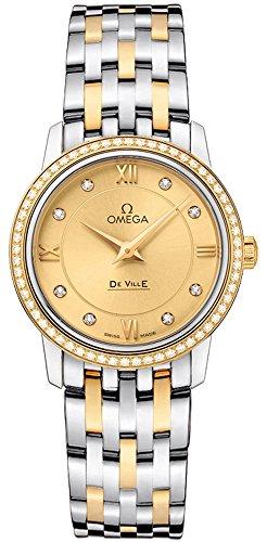 Reloj de mujer de cuarzo Omega de Ville Prestige 424,25,27,60,58,001