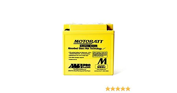 Batterie Motobatt Mb9u Auto