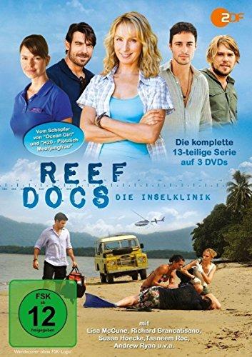 Reef Docs - Die Inselklinik (Reef Doctors)/Die komplette 13-teilige Abenteuerserie vom Schöpfer von OCEAN GIRL und H20 - PLÖTZLICH MEERJUNGFRAU [3 DVDs]