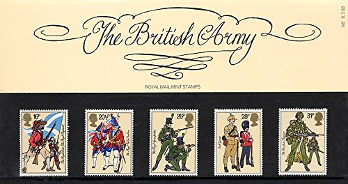 1983 British Army Presentation Pack PP124 (printed no. 145) - Royal Mail Stamps by Royal Mail
