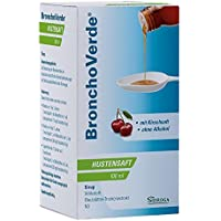 BronchoVerde Hustensaft Kirschgeschmack, 100 ml preisvergleich bei billige-tabletten.eu