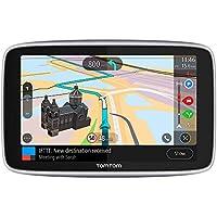 TomTom Navigationsgerät GO Premium (6 Zoll, Stauvermeidung dank TomTom Traffic, Karten-Updates Welt, Updates über WiFi, Freisprechen)