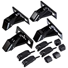 Thule 960 Foot Set for Vehicles without Flush Railing Pack of 4