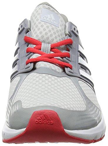 adidas Duramo 8 W, Scarpe Running Unisex – Adulto Grigio (Clear Grey/ftwr White/core Pink)